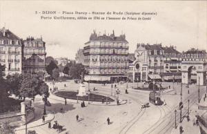 France Dijon Place Darcy Statue de Rude