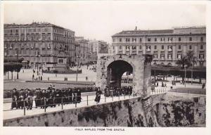 RP; Italy , Naples , From the Castle , 20-30s