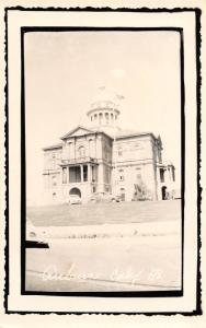 E59/ Auburn Placer County California Postcard RPPC c50s Court House