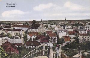 Grudziądz , Poland , 00-10s : Panorama view
