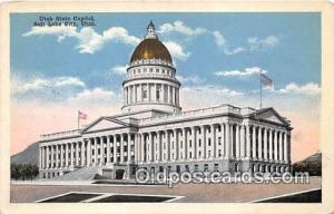 Utah State Capitol Salt Lake City, Utah, USA Postcard Post Card Salt Lake Cit...