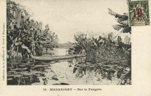 CPA AK Madagascar Afrique - Mananjary - Sur le Fangato (87177)