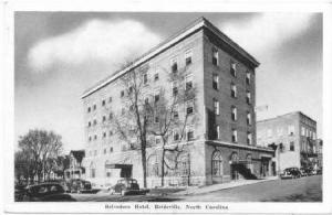 Belvedere Hotel, Reidsville, North Carolina, 20-40s