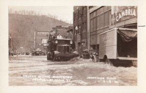 RP: JOHNSTOWN , Pennsylvania , 1936 ; Main Street