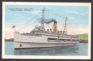 Steamer 'Catalina' Avalon Catalina Island CA unused c1920's