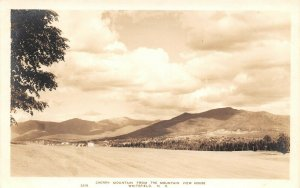 LPS19 Whitefield New Hampshire Cherry Mountain Postcard RPPC