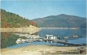 Boat Docks of Sutton Dam Lake, West Virginia, WV