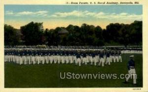 Dress Parade, US Naval Academy Annapolis MD Unused