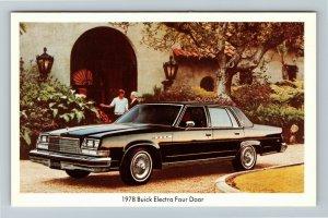 1978 Buick Electra Four Door, Automobile, Chrome Postcard