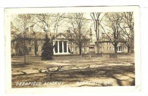RP; Deerfield Academy, Massachusetts, PU-1939
