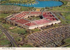 Aerial Of The Pentagon Arlington Virginia