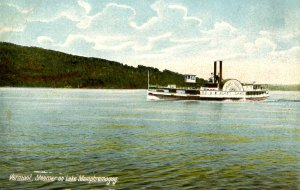 VT - Lake Memphremagog, Steamer Lady of the Lake