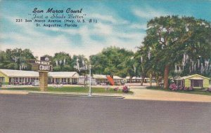 Florida Saint Augustine San Marca Court Just A Shade Better
