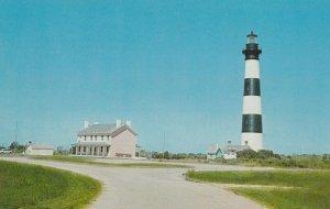 Bodie Island , North Carolina , 1950-60s ; LIGHTHGOUSE