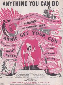Anything You Can Do 1940s Sheet Music