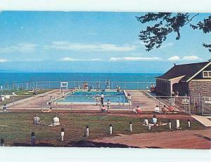 Pre-1980 TOWN VIEW SCENE Fundy National Park - Alma New Brunswick NB p9357