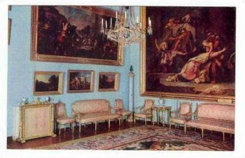 Azerbaijan, Arkhangelskoye. Palace, The Reception Room 1960s