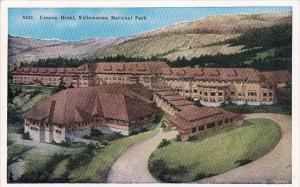 Canyon Hotel Yellowstone National Park Wyoming