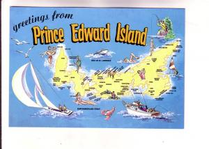 Pictorial Map, Prince Edward Island