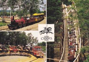 Miniature Train, Mini-Truck & Roller Ciaster Rides, Upper Clements Park , Nov...