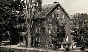 ME - Sabbathday Lake. Shakers Central Brick Dwelling House