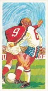 Brooke Bond Trade Card Play Better Soccer No 8 Tackling