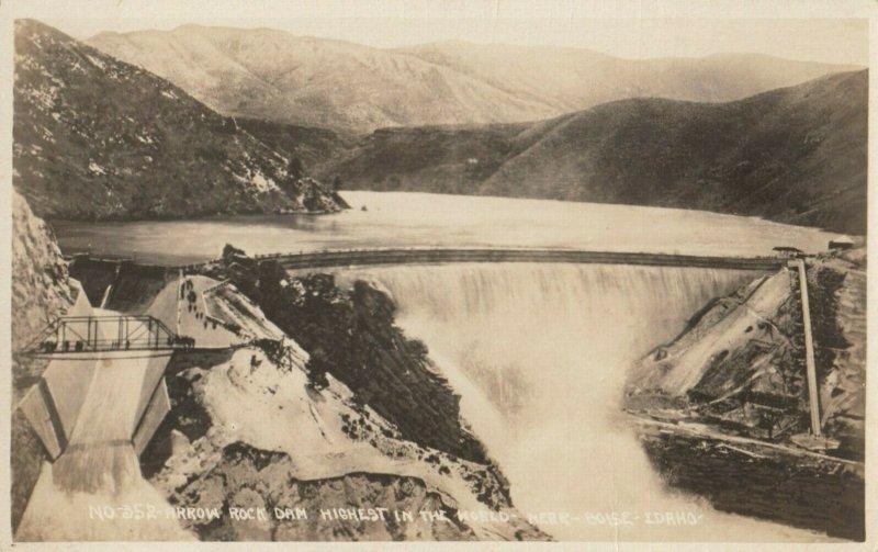 RP: ARROW ROCK DAM , Idaho , 1920-30s