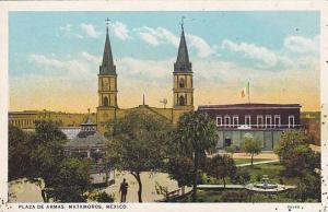 Plaza De Armas, Matamoros, Mexico, 1910-1920s