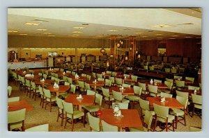 West Palm Beach FL-Florida, S & S Cafeterias, Chrome Postcard