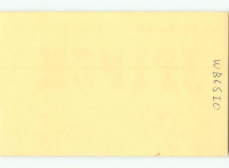 1978 Vintage Qsl Ham Radio Card Toyko Japan t1798