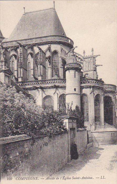 Compiegne, Abside de l'Eglise Saint-Antoine, Oise, France, 00-10s