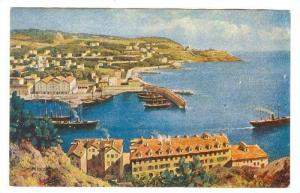 NIZZA, Aerial View of town and ocean-front, 00-10s