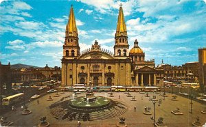 Catedral Guadalajara Mexico Tarjeta Postal Postal Used Unknown