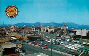 San Francisco California~Fishermans Wharf~Amado's~Emporium~Nice 1950s Cars