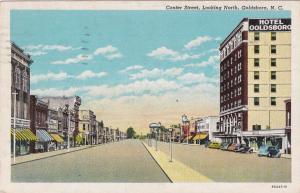 GOLDSBORO, North Carolina , PU-1942; Center Street, Looking North