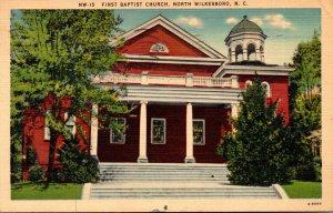 North Carolina North Wilkesbooro First Baptist Church 1946