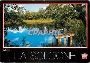 Postcard Modern Sologne