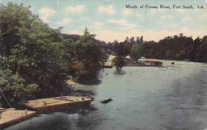Mouth of Poteau River , Fort Smith , Arkansas , PU-1919