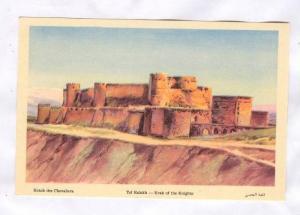 Krack des Chevaliers, Tel Kalakh , Syria, 20-40s