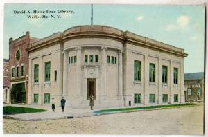 Library, Wellsville NY