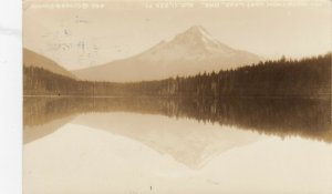 RP: MT HOOD , Mirror Lake , Oregon , 1932