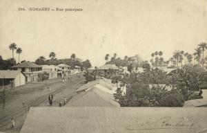 guinea, CONAKRY KONAKRY, Rue Principale (1907)