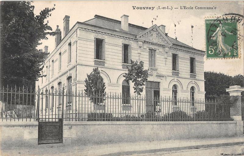 B105055 France Vouvray L'Ecole Communale