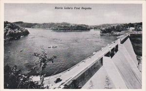 Tennessee Norris Lake's First Regatta and TVA's Norris Dam Curteich
