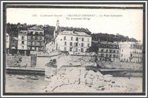 France - Battle of Chateau-Thierry WWI Second Battle of The Marne - [FG-006]