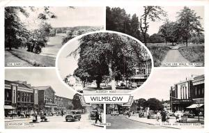 Wilmslow, Alderley Road Rex Cinema and Alderley Road The Lime Walk The Carrs