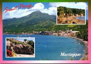 Martinique Saint Pierre Panoramic View