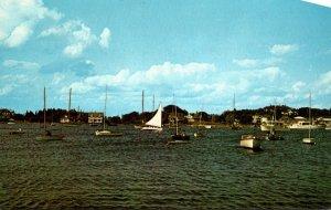 Rhode Island Watch Hill Safe Harbor Scene