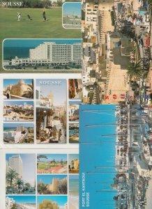 SOUSSE TUNISIA TUNISIE AFRIQUE 199 CPM (mostly 1960-1990 period)