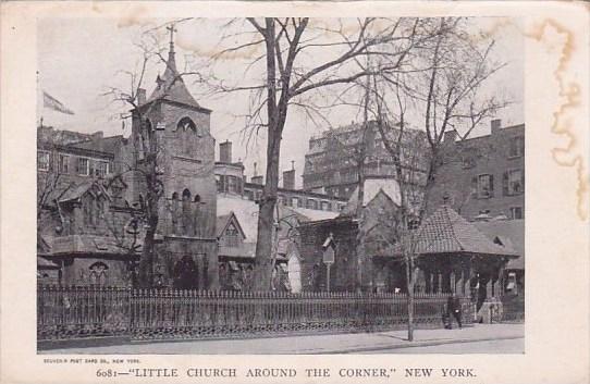 New York City Little Church Around The Corner